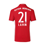 2016-17 Bayern Home Shirt (Lahm 21) - Kids