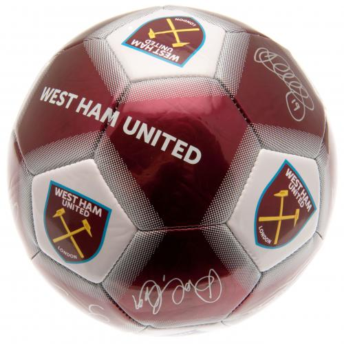 West Ham United F.C. Football Signature