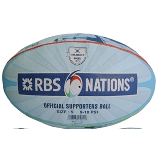 6 Nations Rugby Ball 248078