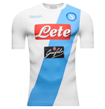 2016-2017 Napoli Kappa Authentic Away Shirt