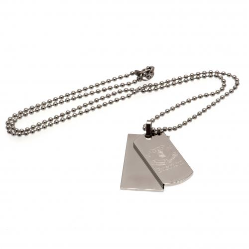 Everton F.C. Double Dog Tag & Chain