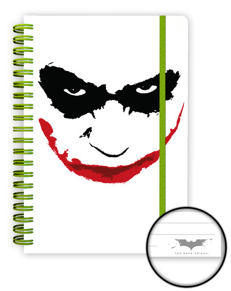 BATMAN Dark Night (Joker) A5 Notebook