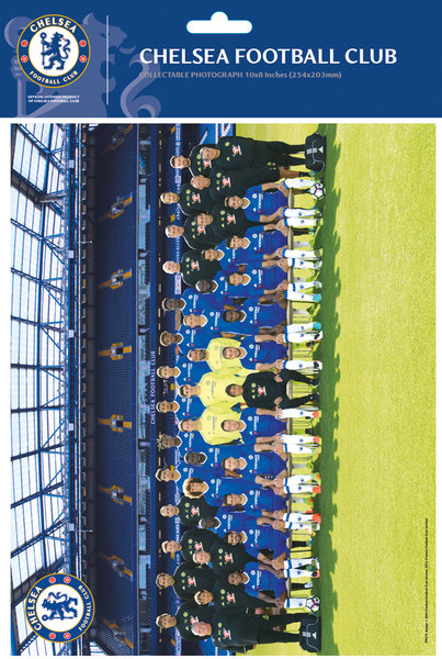 "CHELSEA Team 16/17 10"" x 8"" Bagged Photographic"