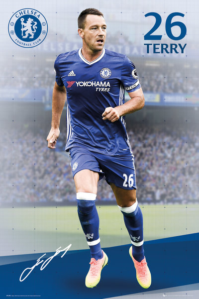 CHELSEA Terry 16-17 Maxi Poster