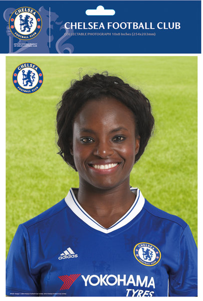 "Chelsea Aluko 16/17 10"" x 8"" Bagged Photographic"