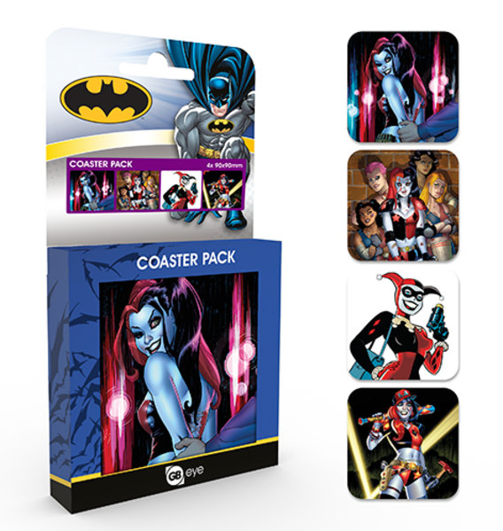 DC Comics Harley Quinn Coaster Box
