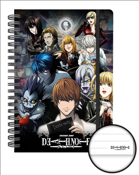 Death Note Collage A5 Notebook