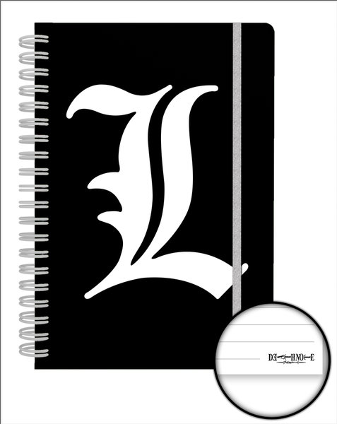 Death Note L A5 Notebook