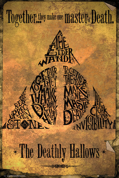 HARRY POTTER Deathly Hallows Maxi Poster