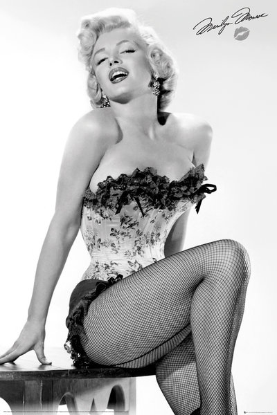 Marilyn Monroe Table Maxi Poster