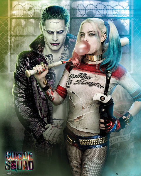 SUICIDE SQUAD Joker And Harley Quinn Mini Poster
