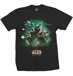 Star Wars Rogue One T-Shirt Rebels Poster