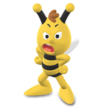 Maya the Bee Figure Willy (standing) 7 cm