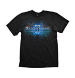 STARCRAFT II Men's Logo T-Shirt, Small, Black