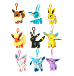 Pokemon Plush Keychains 10 cm Assortment Eeveelution (9)