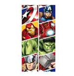 The Avengers Towel Characters 140 x 70 cm