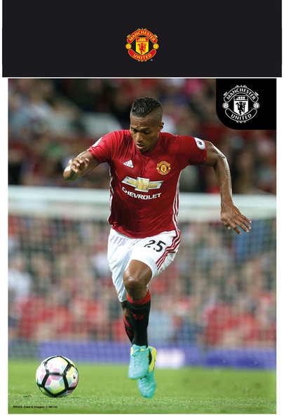 "MANCHESTER UNITED Valencia 16/17 10"" x 8"" Bagged Photographic"