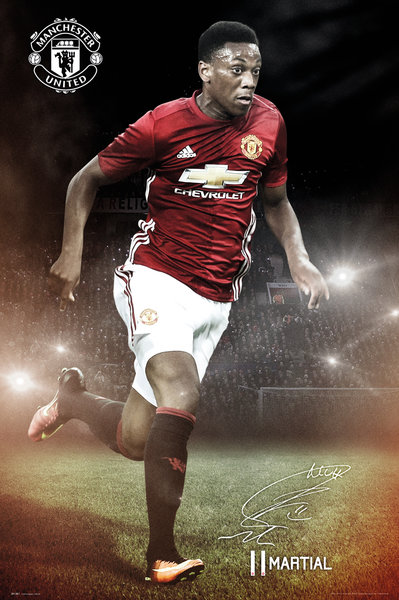 MANCHESTER UNITED Martial 16-17 Maxi Poster