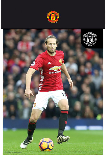 "MANCHESTER UNITED Blind 16-17 10"" x 8"" Bagged Photographic"