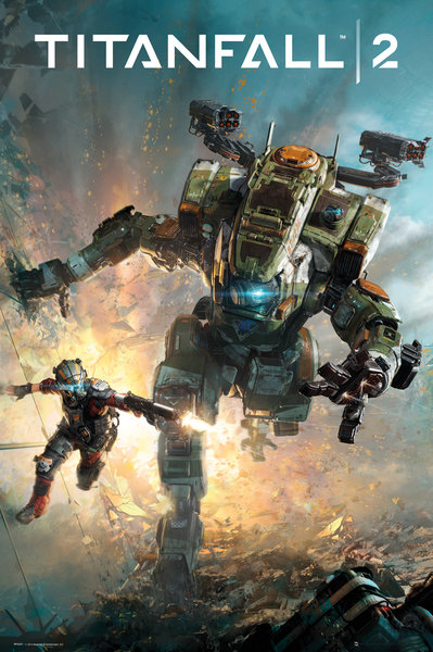 TITANFALL 2 Cover Maxi Poster