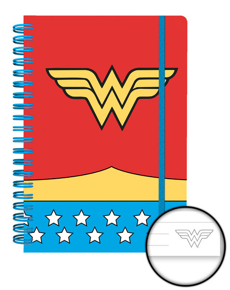 DC COMICS Wonder Women Costume A5 Notebook