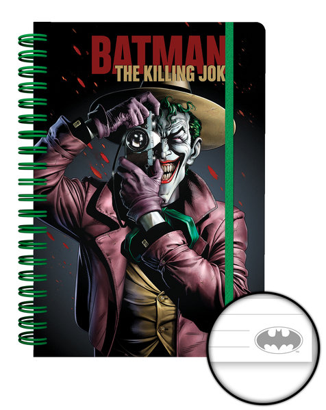 DC COMICS Killing Joke A5 Notebook