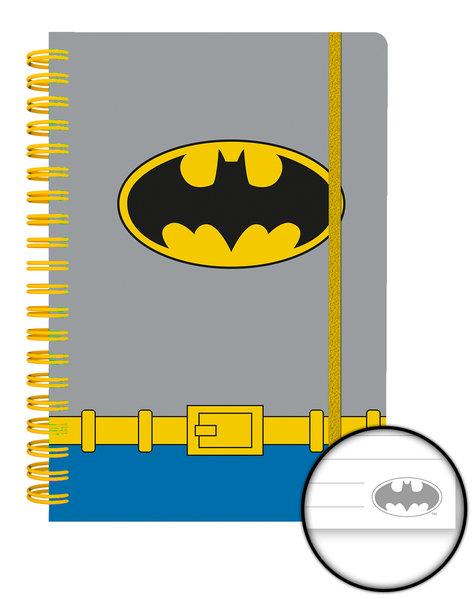DC COMICS Batman Costume A5 Notebook