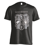Game of Thrones T-Shirt Dagger Throne