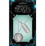 Fantastic Beasts Dog Tags with ball chain Newt Scamander