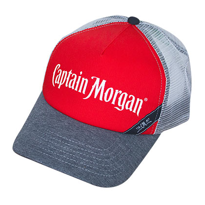 CAPTAIN MORGAN White Mesh Trucker Hat