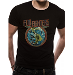 Foo Fighters - Globe - Unisex T-shirt Black