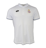 2016-2017 Deportivo La Coruna Lotto Official Polo Shirt (White)