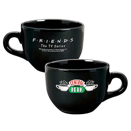 FRIENDS Central Perk Black Ceramic Coffee Mug