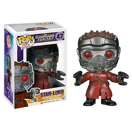 GUARDIANS OF THE GALAXY Funko Pop Star Lord Vinyl Figure