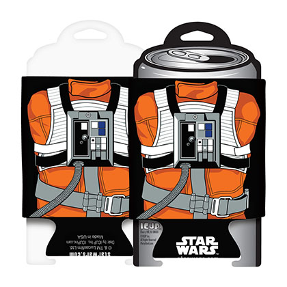 STAR WARS Luke Skywalker X-Wing Pilot Koozie