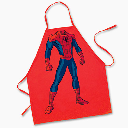SPIDERMAN Kids Costume Apron