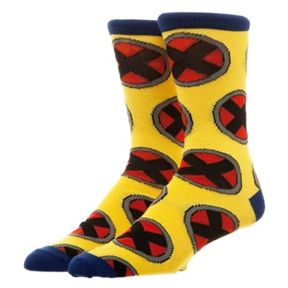 X-MEN Repeat Logo Crew Socks