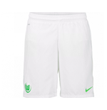 2016-2017 VFL Wolfsburg Nike Home Shorts (White)
