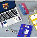 Barcelona Puffy Stickers Set