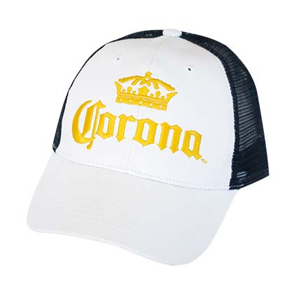 Corona White Trucker Hat