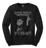 David Bowie T-shirt - Heroes Court