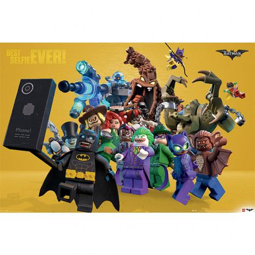 Lego Batman Poster Best Selfie Ever 285
