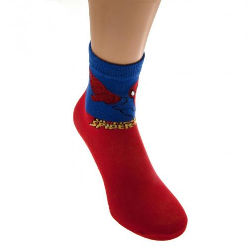 Spider-Man Boys Socks 1 Pack Junior 4-6.5 RD