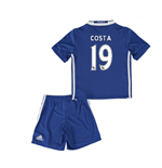2016-17 Chelsea Home Mini Kit (Costa 19)
