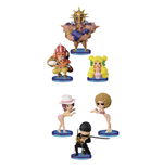 One Piece WCF ChiBi Figures 7 cm Assortment Dressrosa II (10)