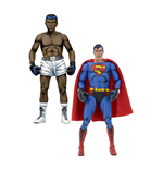 DC Comics Action Figure 2-Pack Superman vs. Muhammad Ali Special Edition 18 cm