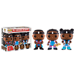 WWE Wrestling POP! WWE Vinyl Figures 3-Pack Big E, Xavier Woods & Kofi Kingston 9 cm
