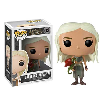 GAME OF THRONES Daenerys Targaryen Funko Pop Vinyl Figure