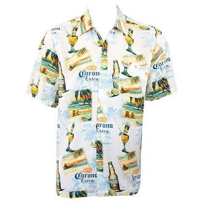 2a7fe948 Official CORONA EXTRA Ivory Coast Aloha Shirt: Buy Online on Offer