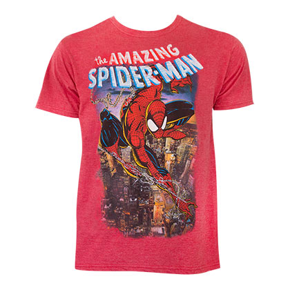 SPIDERMAN Comic Cover Tee Shirt